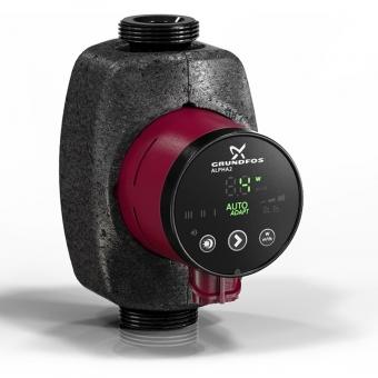 Регулируемый циркуляционный насос Grundfos ALPHA2 25-80 180 мм