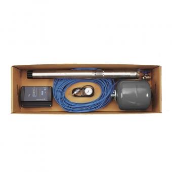Комплект для поддержания давления Grundfos SQE 2-55 каб. 40 м