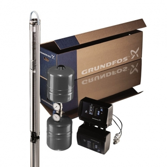 Комплект для поддержания давления Grundfos SQE 2-85 каб. 60 м