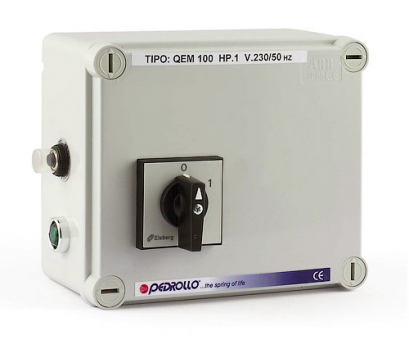 Пульт QEM 075 для погружных скважинных электронасосов Pedrollo