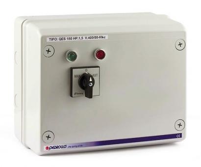 Пульт QES 150 для погружных скважинных электронасосов Pedrollo