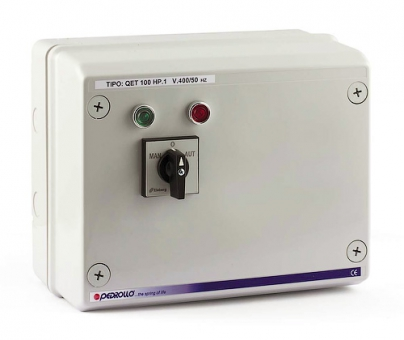 Пульт QET 075 для погружных скважинных электронасосов Pedrollo