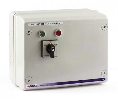 Пульт QET 400 для погружных скважинных электронасосов Pedrollo