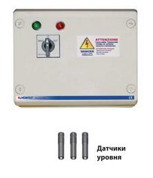 Станция управления QST 3000 для погружных скважинных электронасосов Pedrollo с датчиками уровня