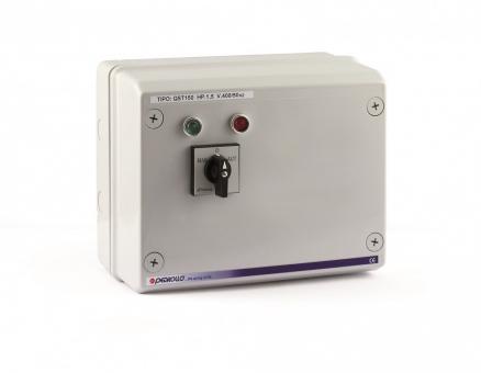 Станция управления QST 4000 для погружных скважинных электронасосов Pedrollo с датчиками уровня