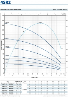 Скважинный насос Pedrollo 4 SR 2m/ 13-PD