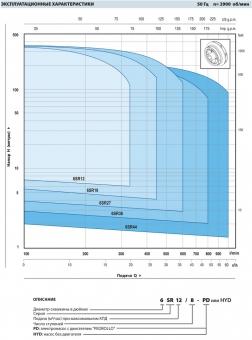Промышленный скважинный насос Pedrollo 6 SR 12/28-P