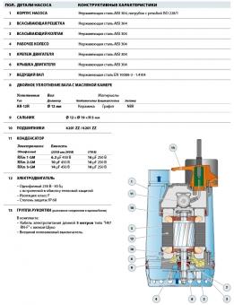 Дренажный насос Pedrollo RXm 3-GM